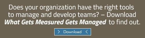 Download the guide: What Gets Measured Gets Managed